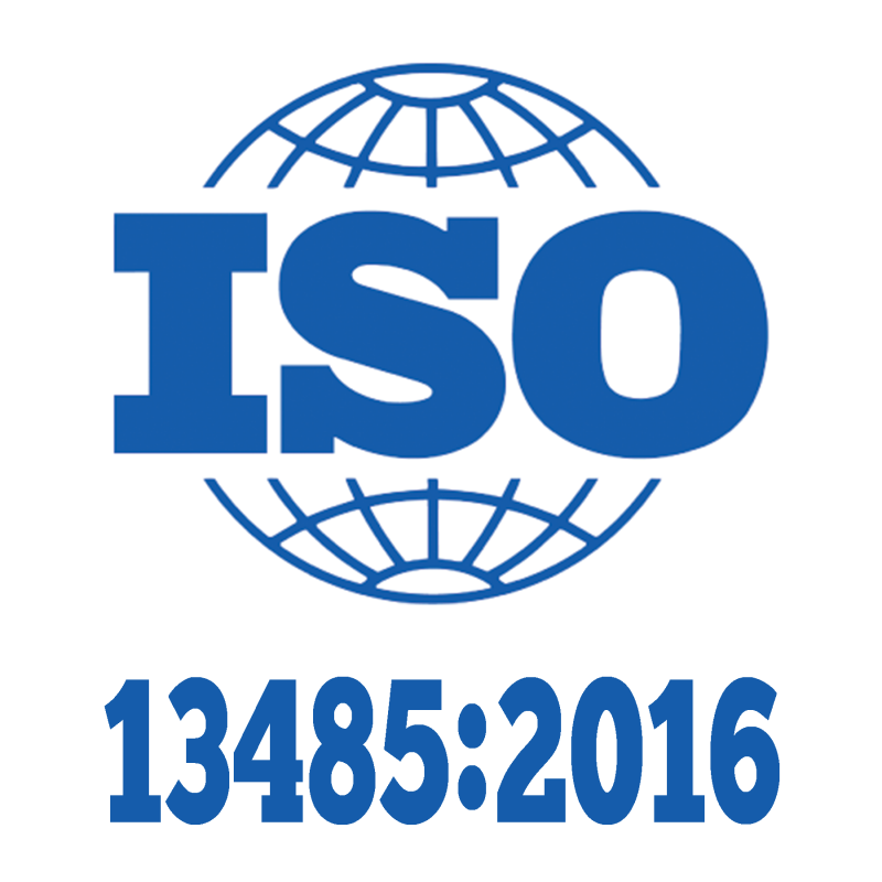 ISO 13485:2016 Registered